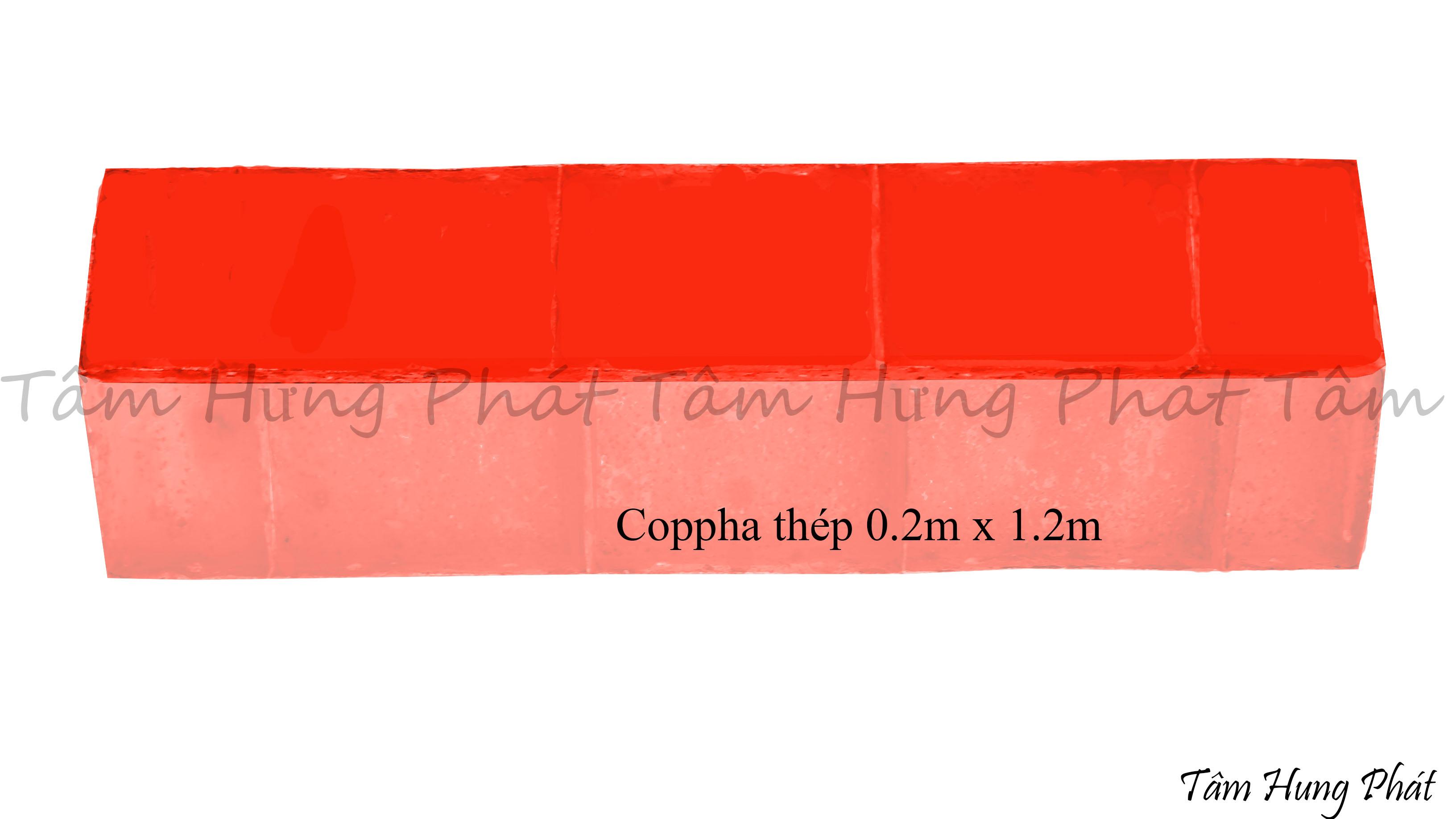 coppha thép 0.2x1.2m
