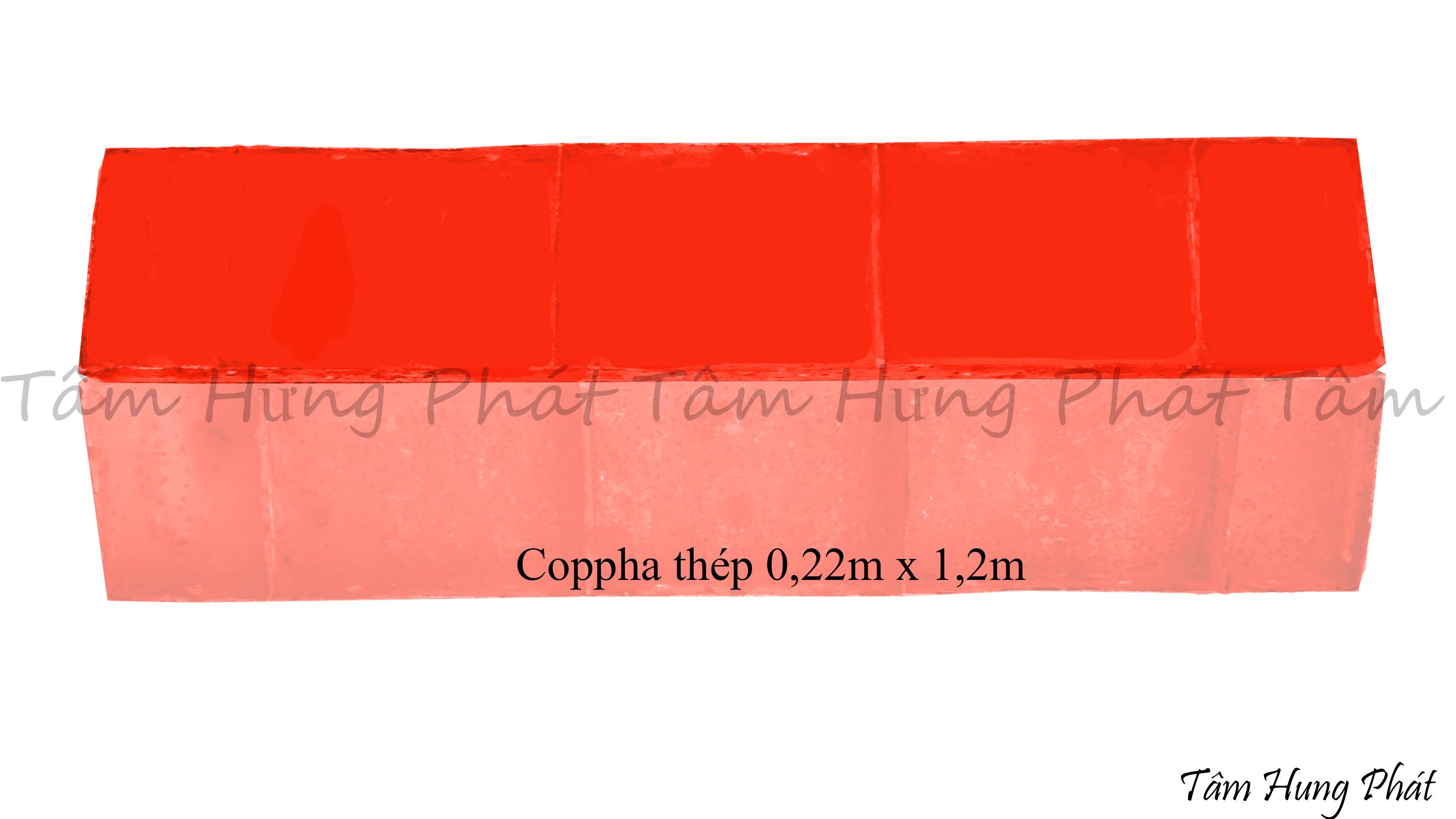 coppha thép 0.22 x 1.2m